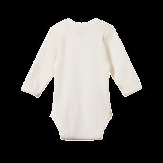 Pointelle Long Sleeve Bodysuit