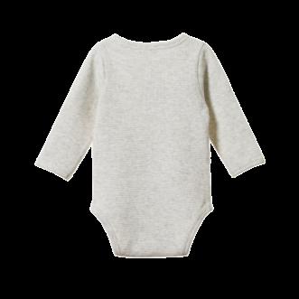 Waffle Henley Long Sleeve Bodysuit