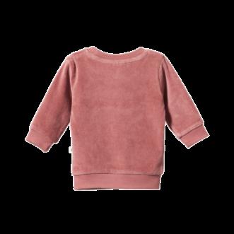 Velour sweater