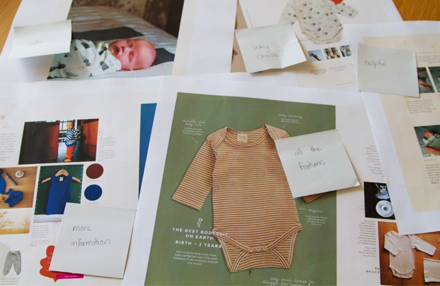 creating the guide for your baby essentials