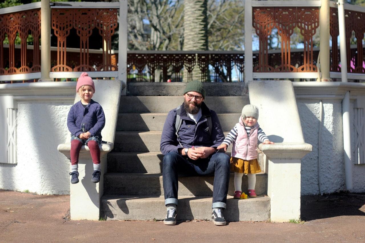 fatherhood: tim grocott