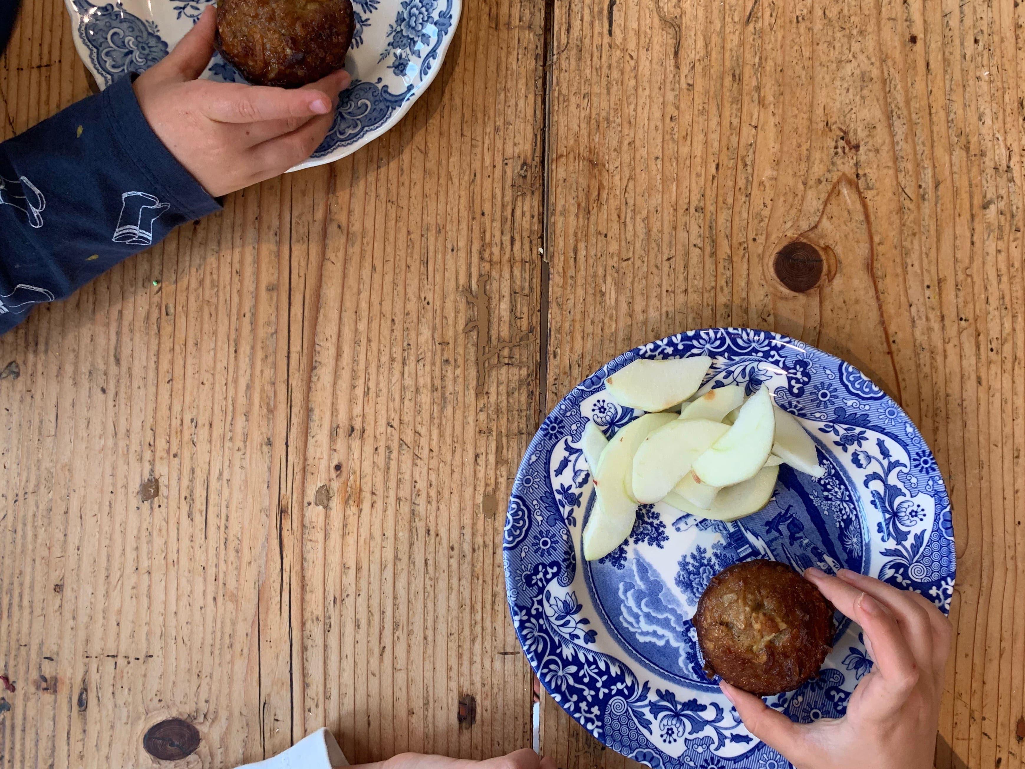 recipe: coconut fruit muffins