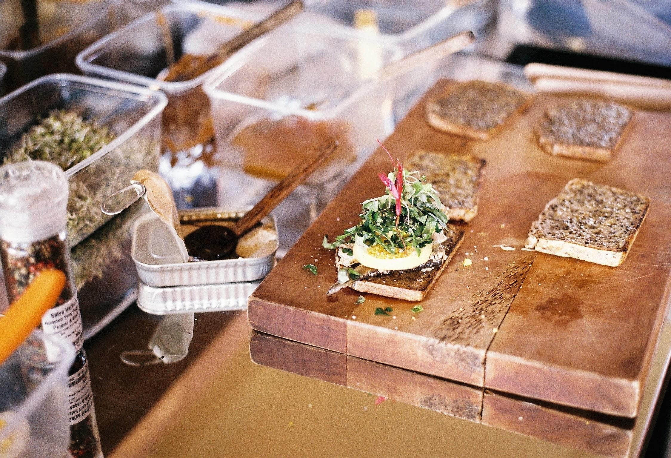 recipe: sardines on toast